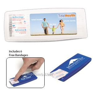 6 Piece Bandage Dispenser