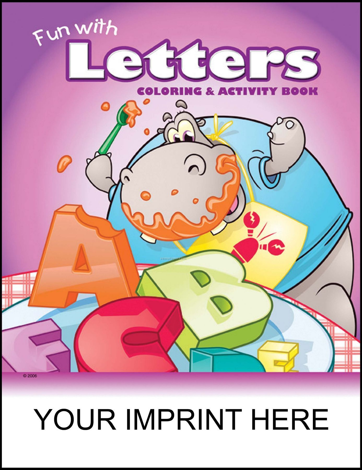 Fun With Letters Coloring & Activity Book