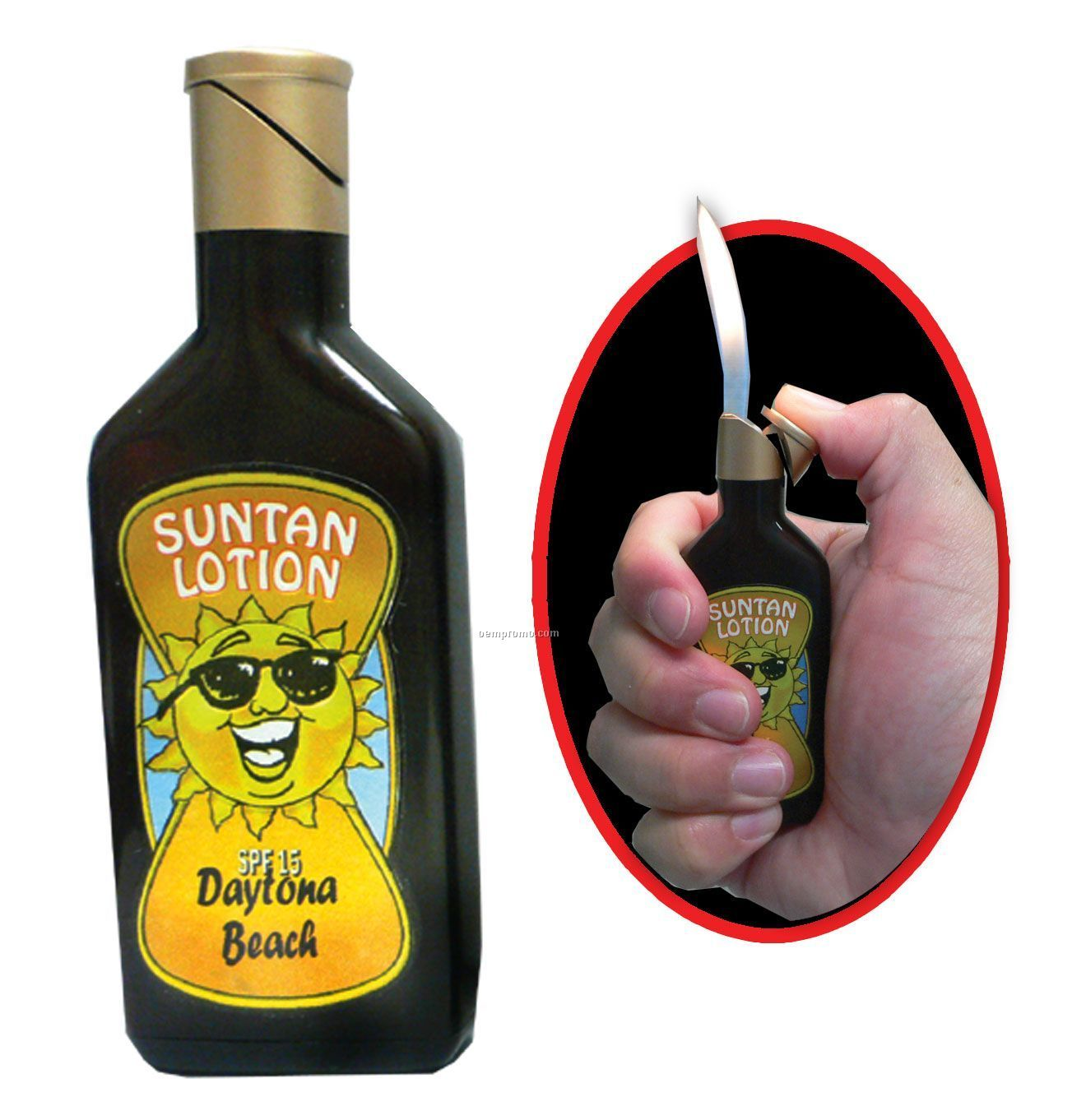 Suntan Lotion Lighter