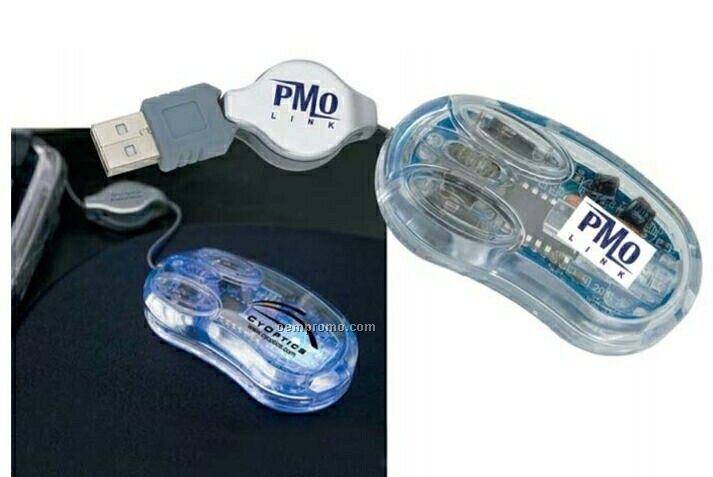 USB Clear Optical Mini Mouse