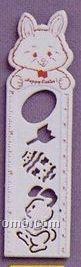 "Adgrabbers Plastic 6"" Rabbit Stencil Ruler"