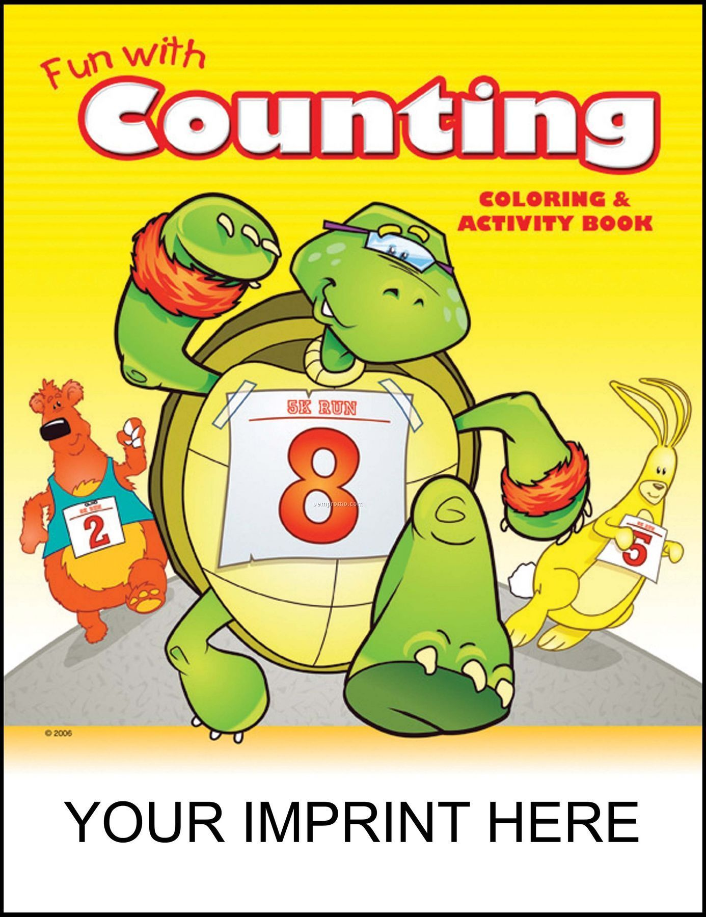 Fun With Counting Coloring & Activity Book