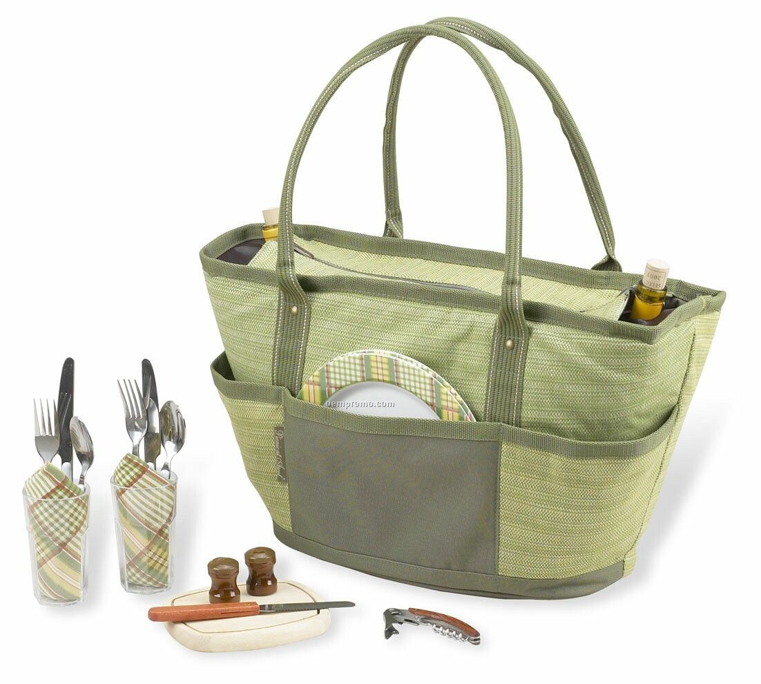 Picnic Basket Backpack Two : Sorrento insulated picnic backpack w wine cheese