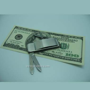 Money Clip Knife (Screen Printed)