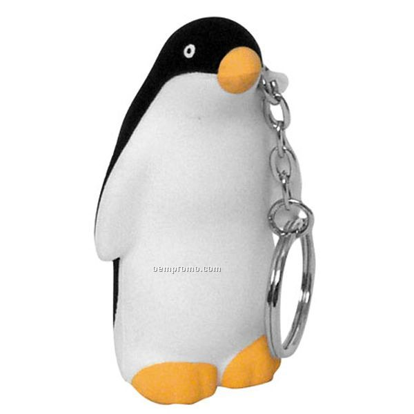 Penguin Key Chain Squeeze Toy