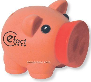 Pink Piggy Bank (Imprinted)