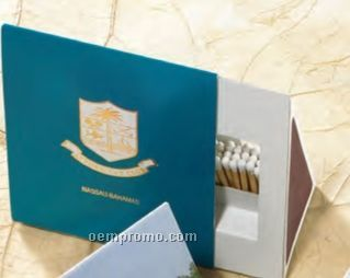 Special Shape Tent A Match Box With 75 Count Matches (85mm X50mm X100mm)