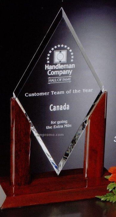 "Parkdale Gallery Crystal Quantum Award (17 1/2"")"