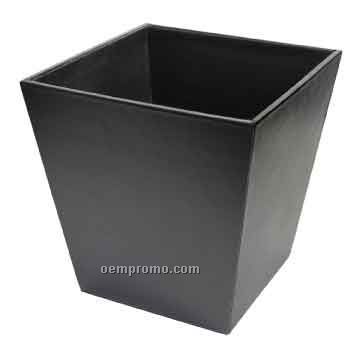 Royce Leather Executive Waste Paper Basket