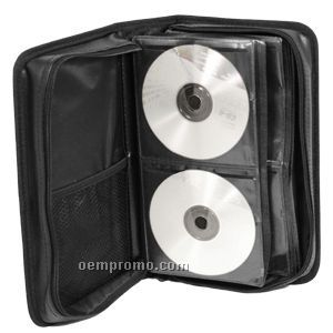 Simulated Leather 104 CD Holder