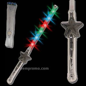 Light up led star magic wand china wholesale light up led for Light up wand