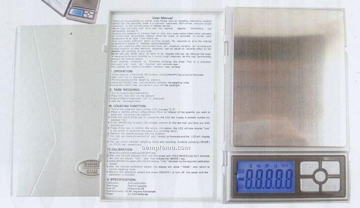Pocket Scale W/ Digital Display