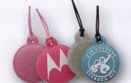 "Pvc Bendable Cell Phone Cleaner Charm (1""X1"")"