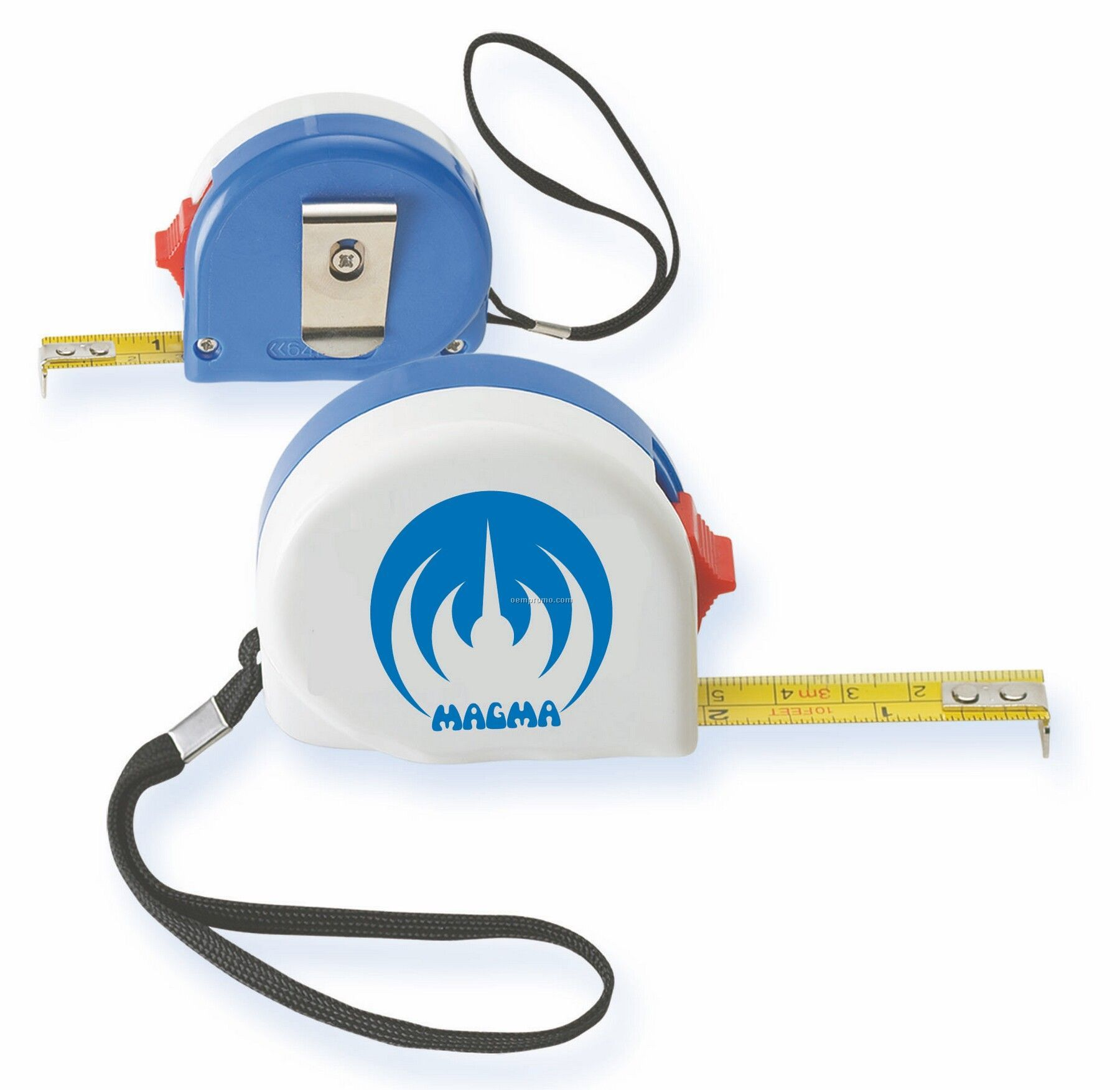 Tape Measure With Metal Pocket Clip