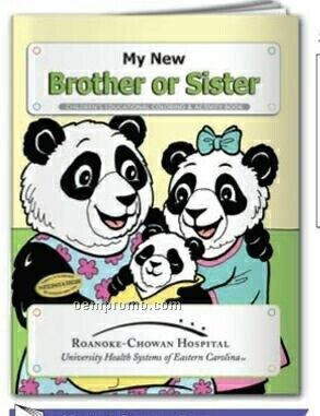 Coloring Book - My New Brother Or Sister