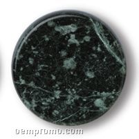 Green Marble Stopper With Natural Cork Base