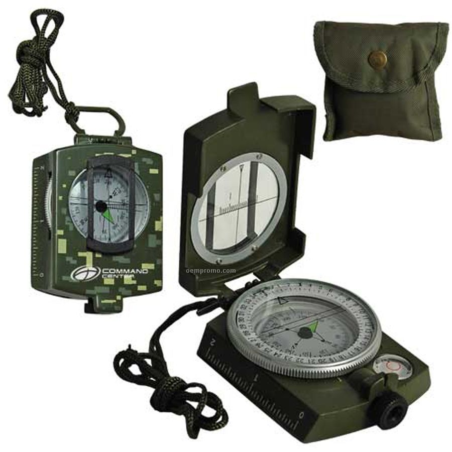 Military Model - Metal Prismatic Compass