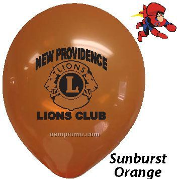 "11"" Decorator Latex Balloons"