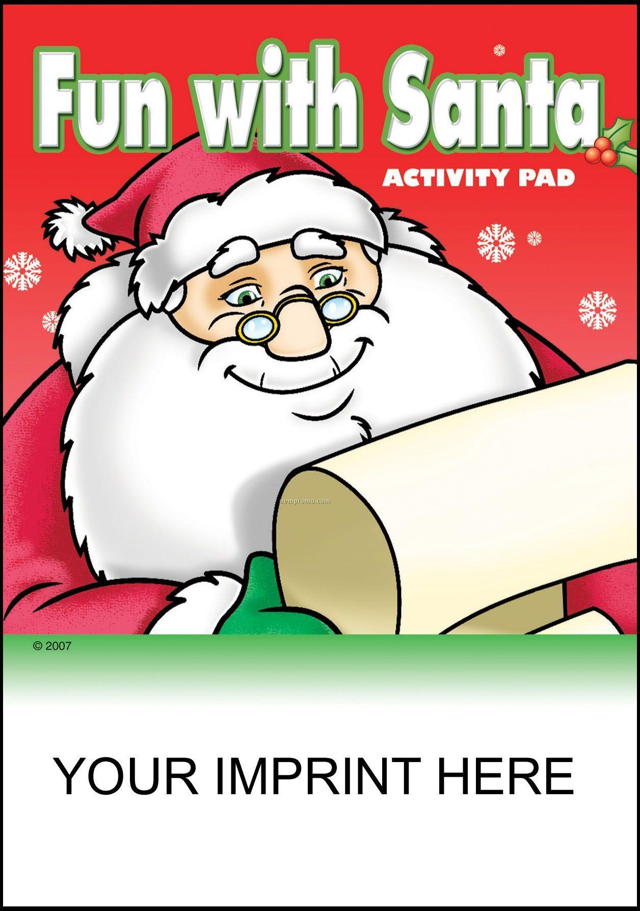 Fun With Santa Activity Pad - Santa With List
