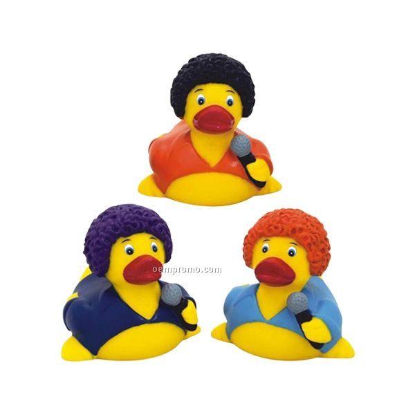 Rubber Disco Fever Duck