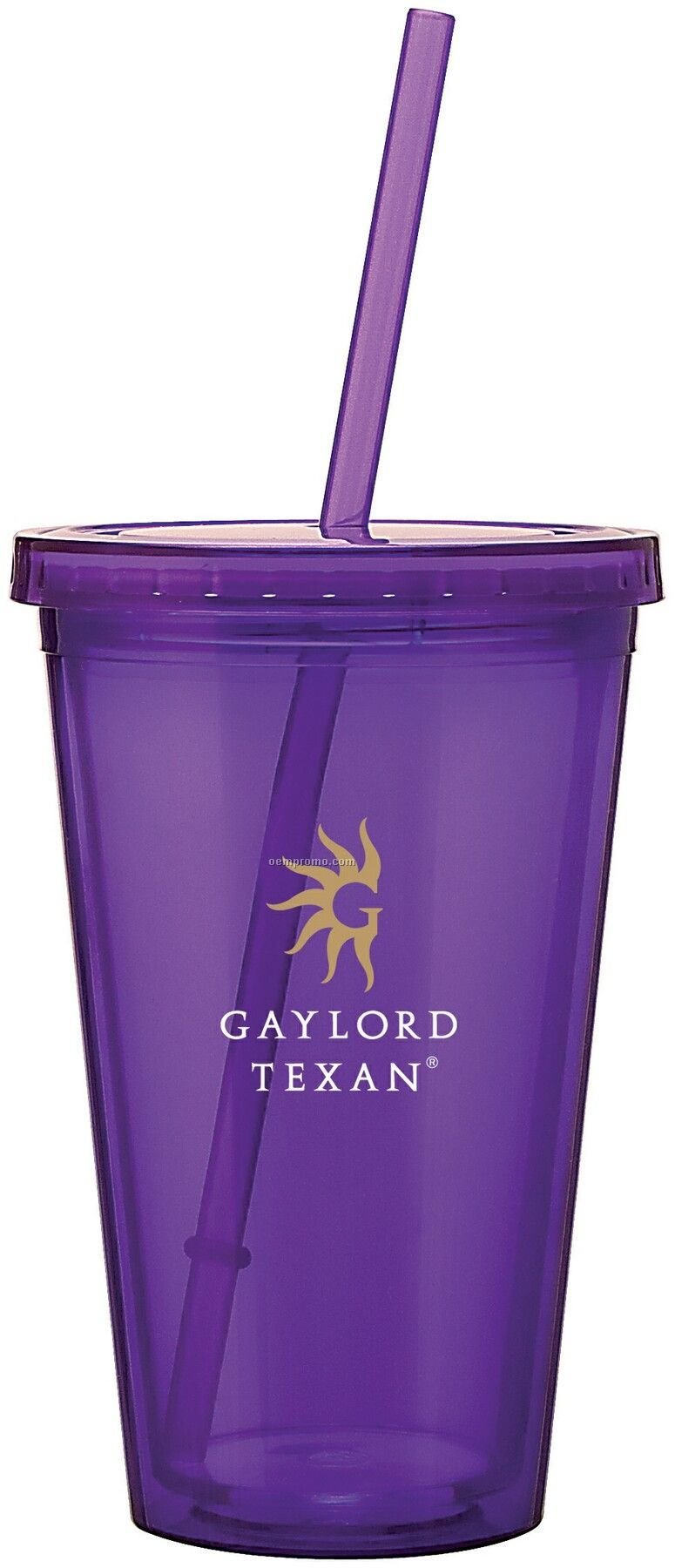 16 Oz. Purple Spirit Tumbler Cup