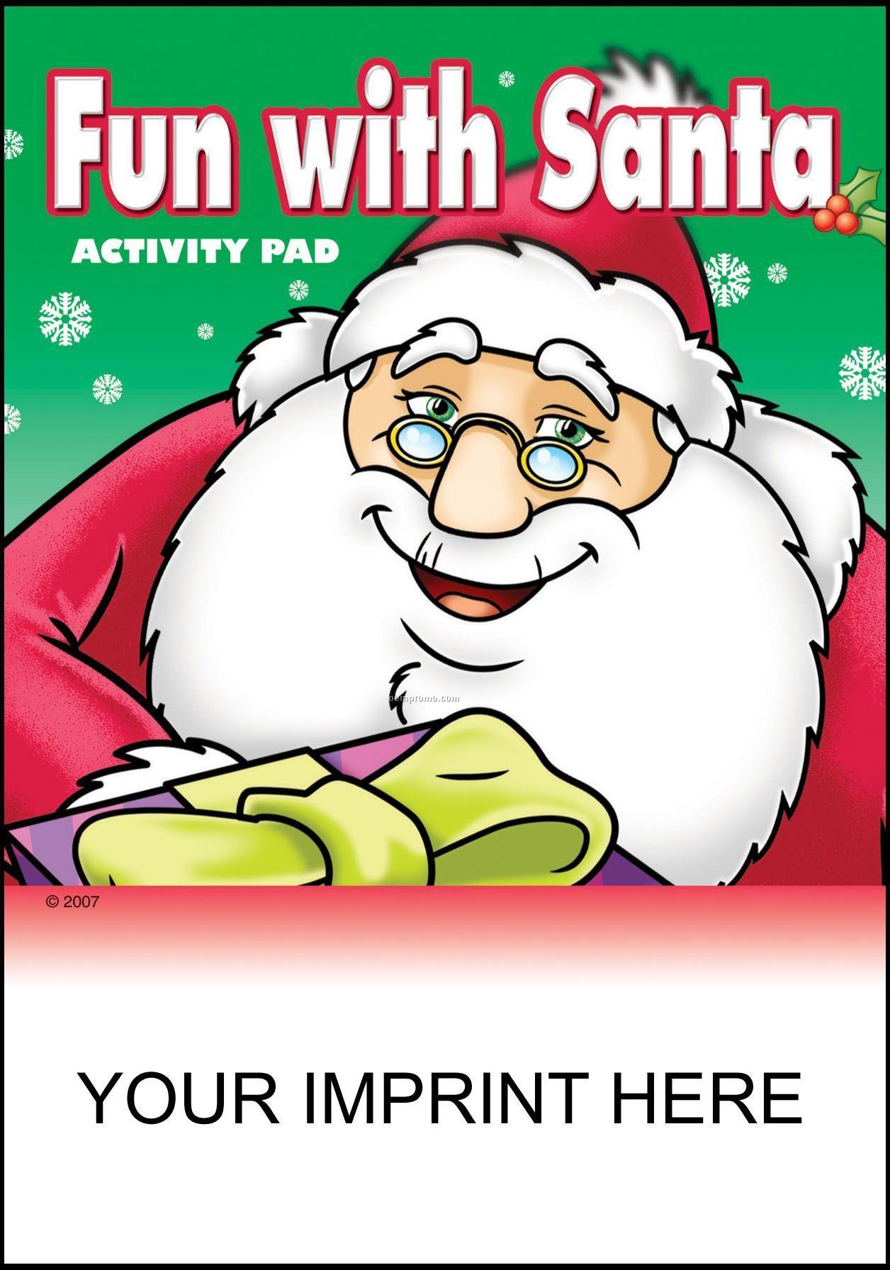 Fun With Santa Activity Pad - Santa With Gift