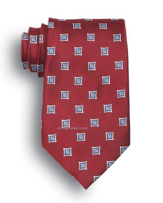 Wolfmark Vasari Silk Tie - Red