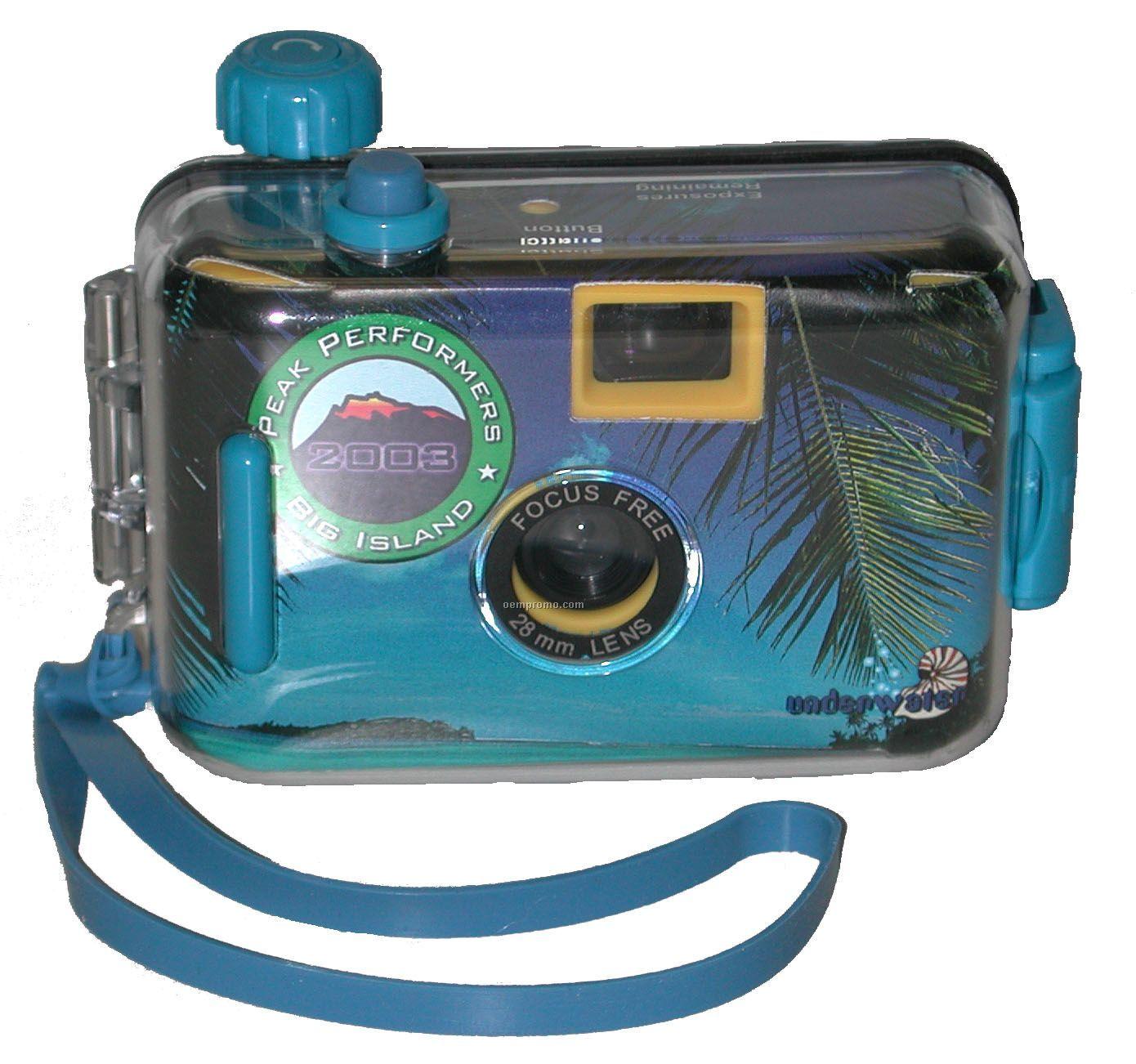 Custom Disposable Waterproof Camera W/27 Exposures
