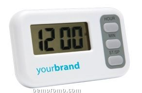 Lcd Countdown Timer With Fold-out Stand And Magnetic Back