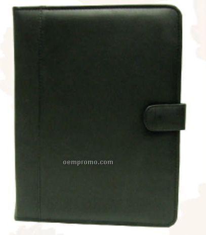 Pink Leatherette File Folder