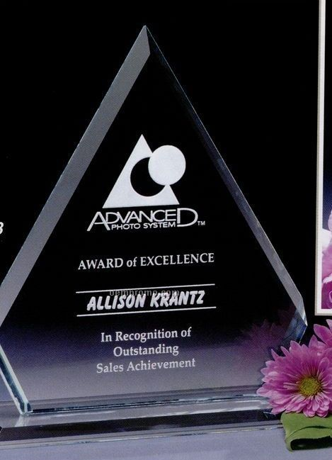 """Pristine Gallery Crystal Dynasty Award (9 1/2"""")"""