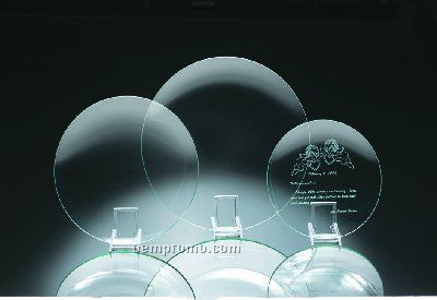 Round Glass Plates - Assorted Sizes