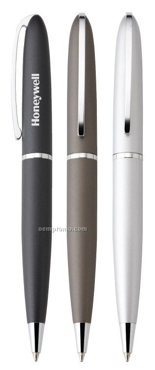 Shanghai Twist Action Metal Barrel Ballpoint Pen
