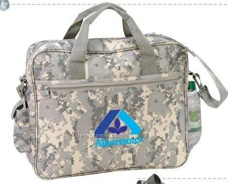 Tactical Briefcase W/ Cell Phone Pocket & Bottle Holder