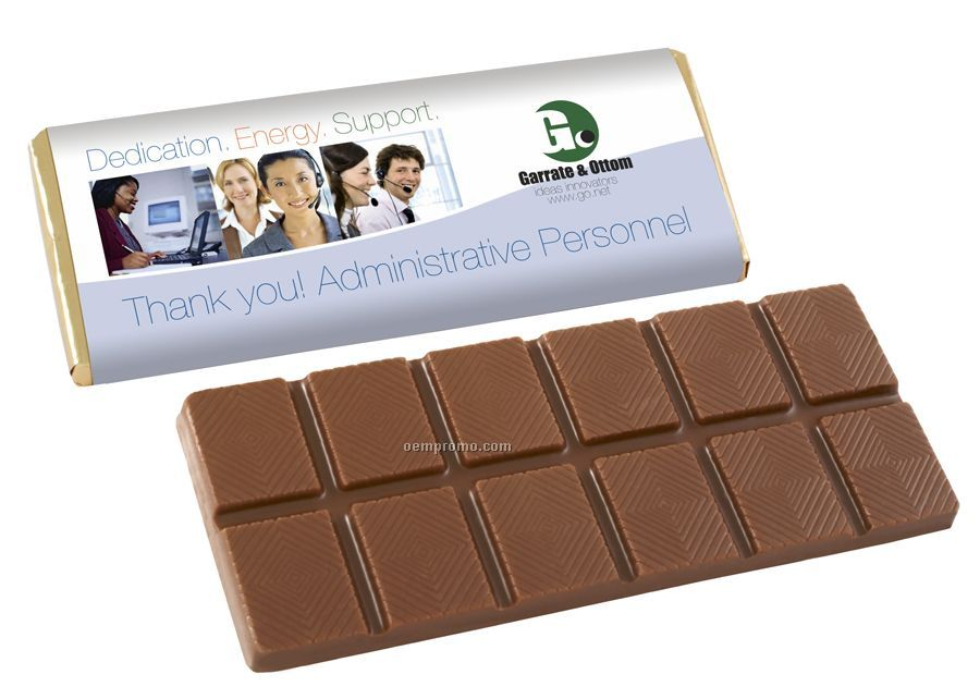 Chocolate Candy Bar W/Custom Wrapper (Alb175)