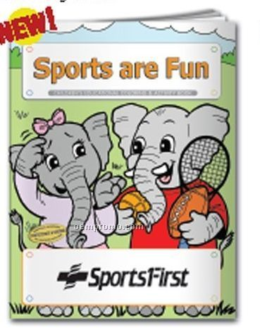 Coloring Book - Sports Are Fun