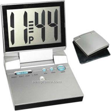 Large Display Lcd Alarm Clock (Screen Printed)