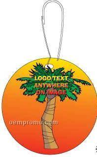 Palm Tree Zipper Pull