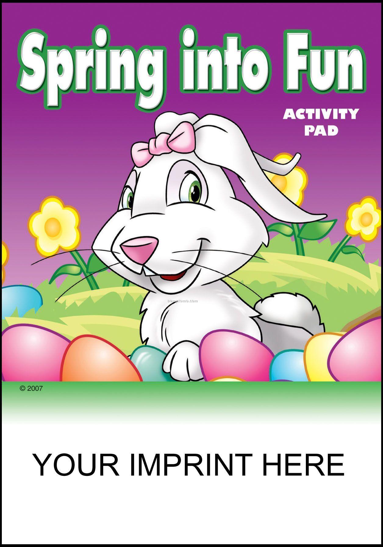 Spring Into Fun Activity Pad