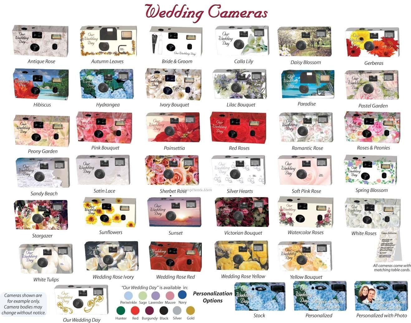 Stock Wedding Design Camera