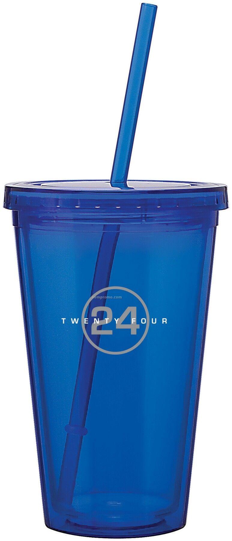 16 Oz. Blue Spirit Tumbler Cup