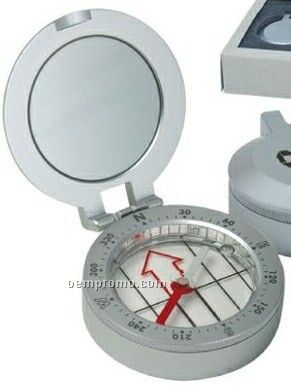 Metal Compasses W/ Sighting Mirror