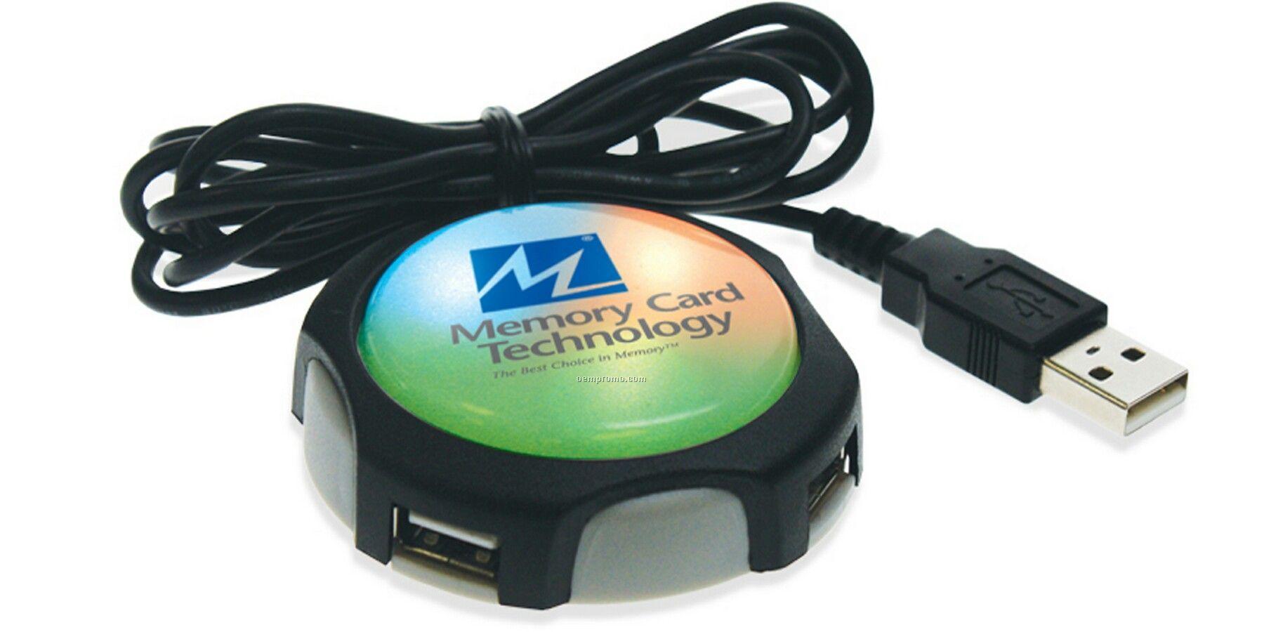 USB Smart Button Hub / Website Launcher