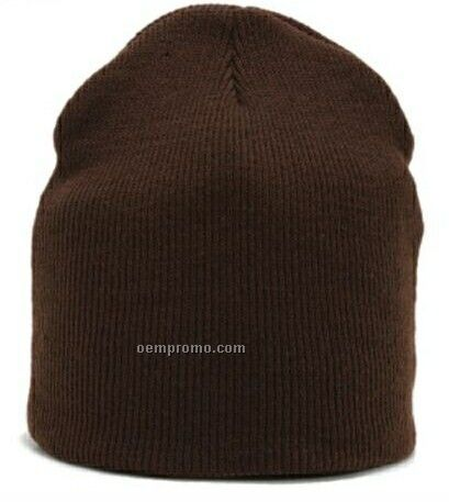 Recycled Organic Short Beanie Cap (One Size Fits Most)