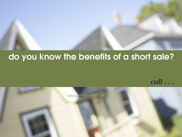 Standard Short Sale/Foreclosure Postcards (4-1/4