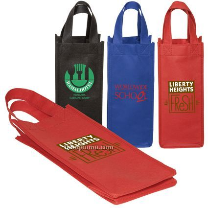Bottle/Gift Non-woven Tote - 80gsm