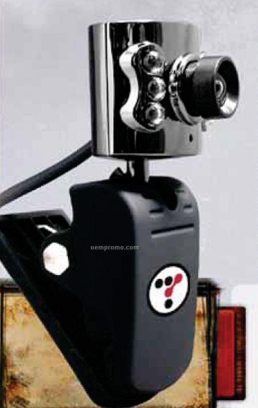 Mini Webcam W/ Built-in LED Lights
