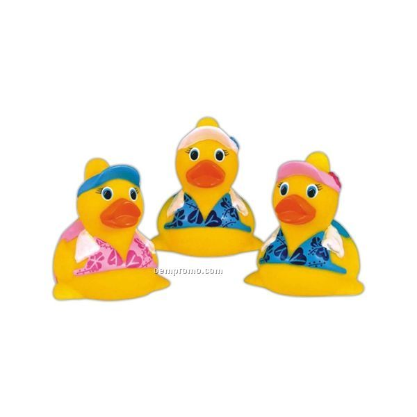 Rubber Fitness Duck Toy