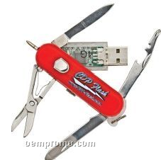Pocket Knife Flash Drive (128 Mb)