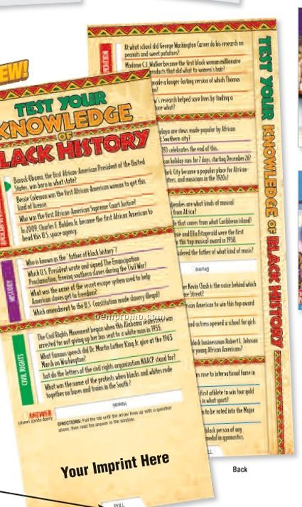 Test Your Knowledge Of Black History Slideguide